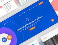 Prime Business Services UI Kits (Free Sketch & PSD)