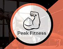 Peak Fitness Branding