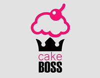Cake Boss corporate identity design