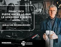 Bombardier - 25 años