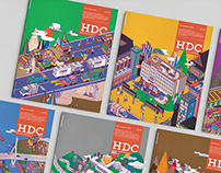 HDC Bimonthly Corporate Magazine Cover