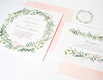Wedding Invitation - Rome