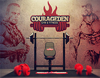 COURAGEDEN - Gym & Fitness