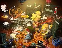 Friends - Illustration series
