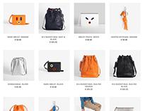 HENTEN. Online store design