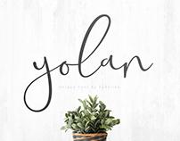 YOLAN UNIQUE FONT - FREE HANDWRITTEN FONT