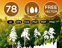 78 Free Tree Icons