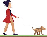 The Dog Walker booklet.