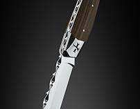 Couteau Templarii