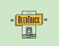 Beer Truck Logo Design