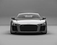 Audi R8 (2016) Studio shoots
