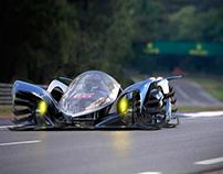 P1 Phenom Hybrid - Le Mans (Michelin top10)