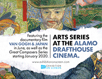 ARTS SERIES AT THE ALAMO | Newspaper ad