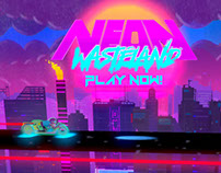 Neon Wasteland Reveal Trailer + Free Demo!