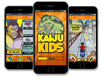 Kaiju Kids Mobile Game
