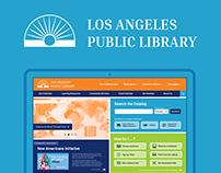 LA Public Library Website & Mobile App Redesign