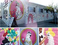 Corner store mural