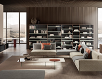 Lago living - Design Selection Salone del Mobile 2018