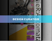 Design d'une application de curation tablette