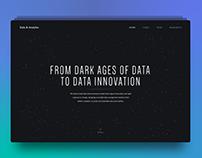 Data & Analytics team website