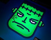 Halloween Frankenstein's monster bot