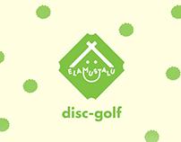 Elasmustalu disc-golf map