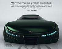 GQ Magazine Autonomous Concept Car Design