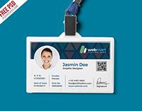 Free PSD : Office ID Card Design PSD