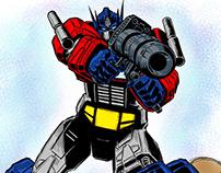 Ilustrações Transformers