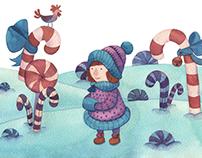 Winter Watercolor Illustrations
