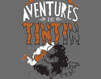Les Aventures de Tintin - Estamparia