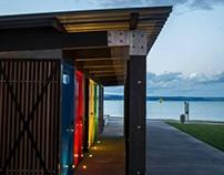 Amenities block, Napier - Blueink Structural Design Ltd