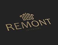 Remont Interiors - Logo i wizytówki
