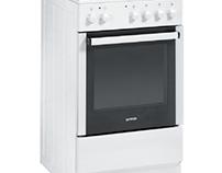 Gorenje G611E17WKA 60cm Gas Cooker With Single Oven