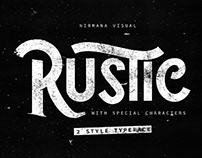 The Rustic Vintage Style Font