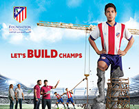 Atletico Madrid Egypt (Let's Build Champs Campaign)