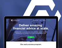 Financial Advice Product // Website