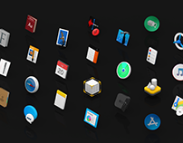 Apple's 3D Icons