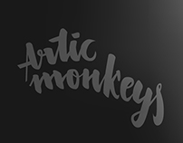 Lettering: Artic Monkeys