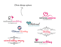 Logo for National Wedding Company