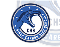 Dinos Carboon High School - Not Official Logo