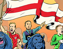 """Three Lions"" for BBC Sport, World Cup 2018"