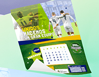 Real Madrid - Calendario escolar 2015-2016