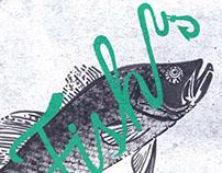 Eat Sleep Fish - Jack&Jones  // Tee Prints