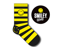 Diseño de Calcetines - Smiley Word