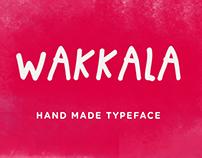 Wakkala - Free Font
