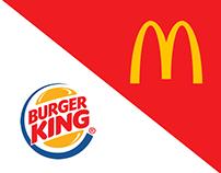 Mcdonald`s VS BurgerKing