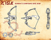 Cyclepunk Bow: from concept to cosplay