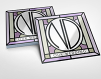 N&D wedding logo