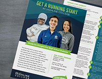 Highline College - Running Start Jumbo Rack Card